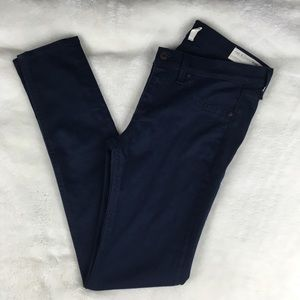 Rag & Bone Dark Wash Stretch Legging Skinny Jeans